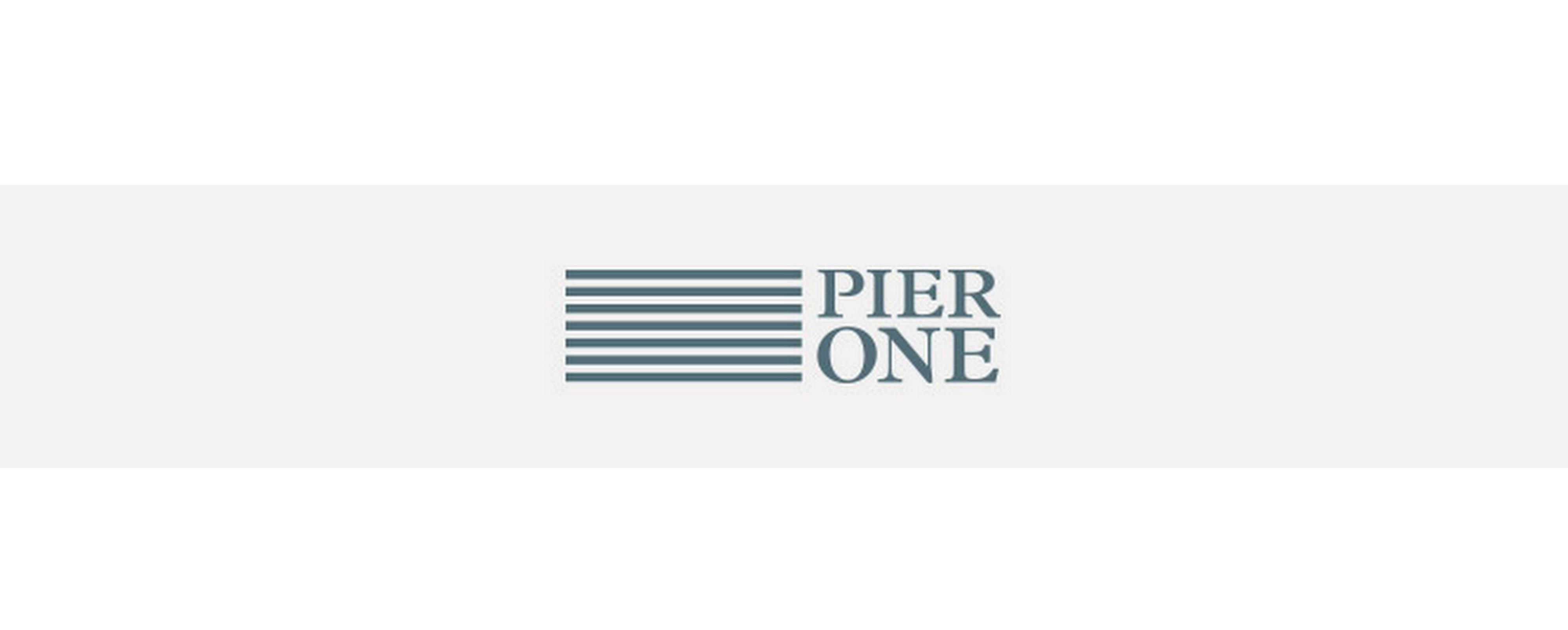 pier one logo