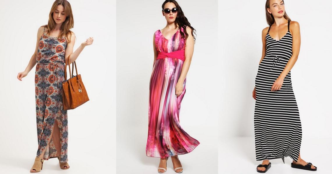 długie sukienki na lato