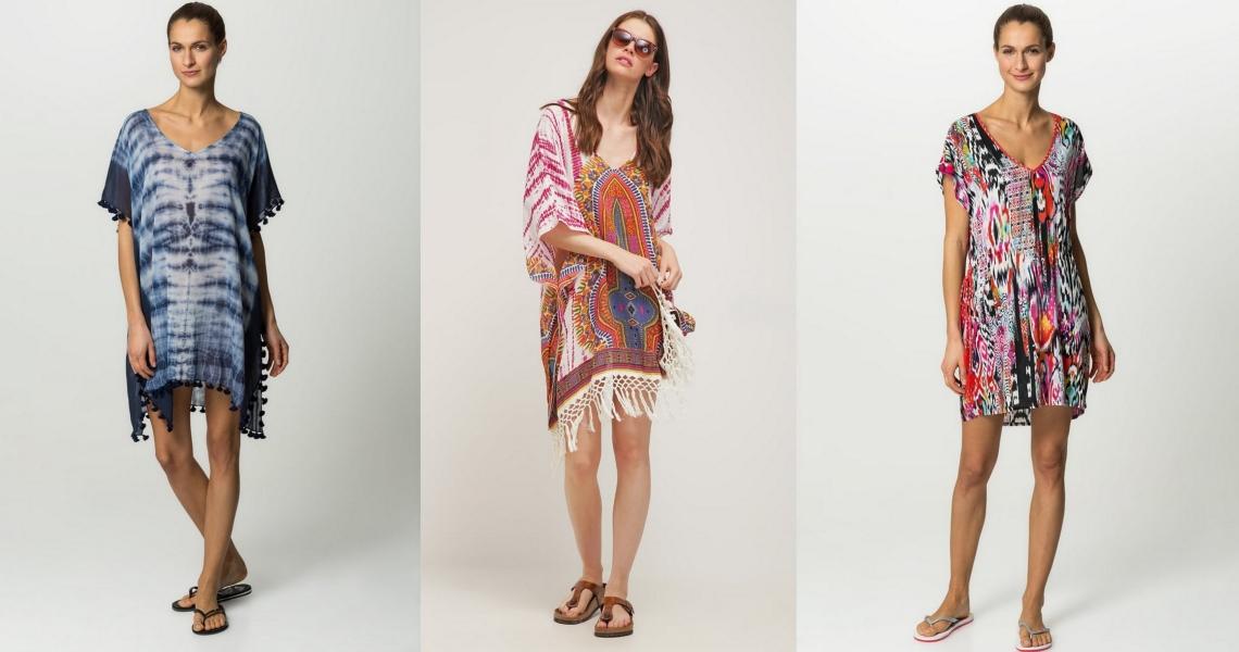 sukienki na lato plażowe