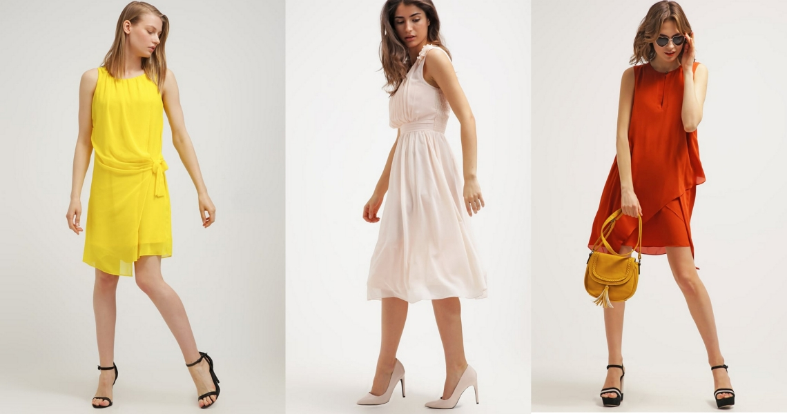 zwiewne sukienki na lato