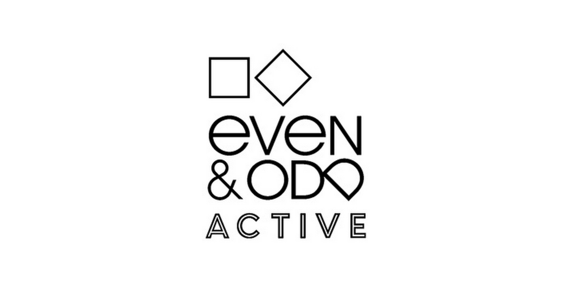 even&odd active logo