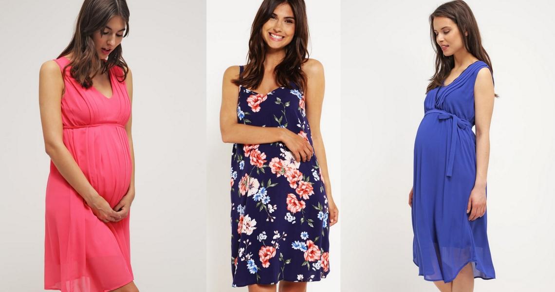 sukienki na lato dla kobiet w ciąży