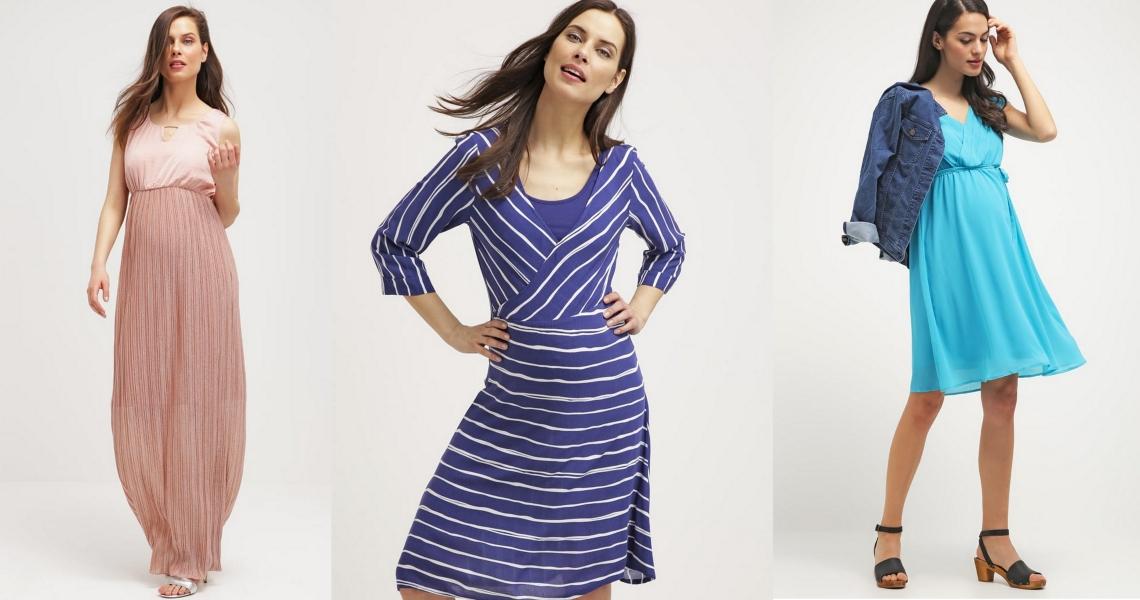24e7f99b Sukienki na lato dla kobiet w ciąży - modatu.pl