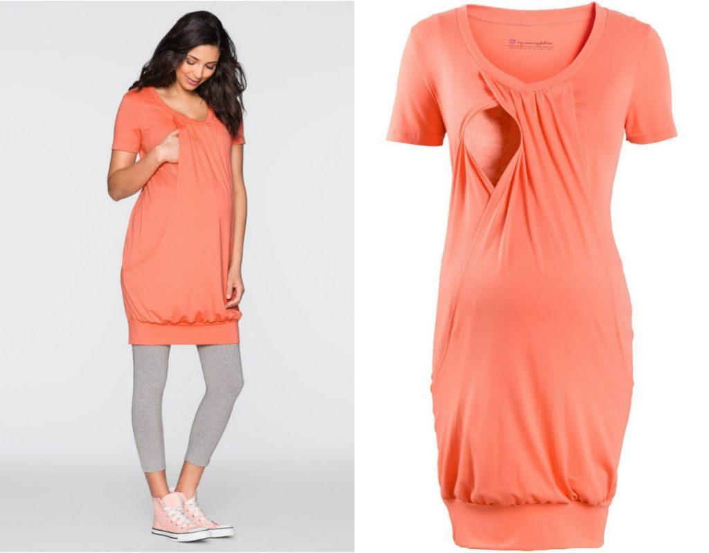 Sukienka ciążowa (fot. www.bonprix.pl)