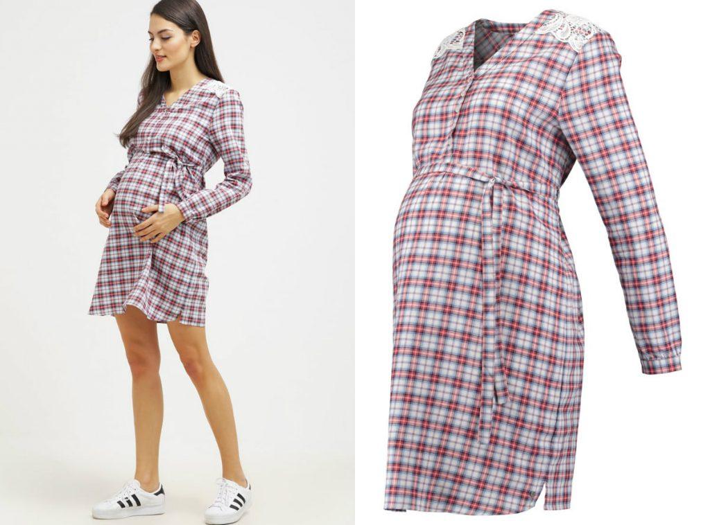 Sukienka koszulowa (fot. www.zalando.pl)