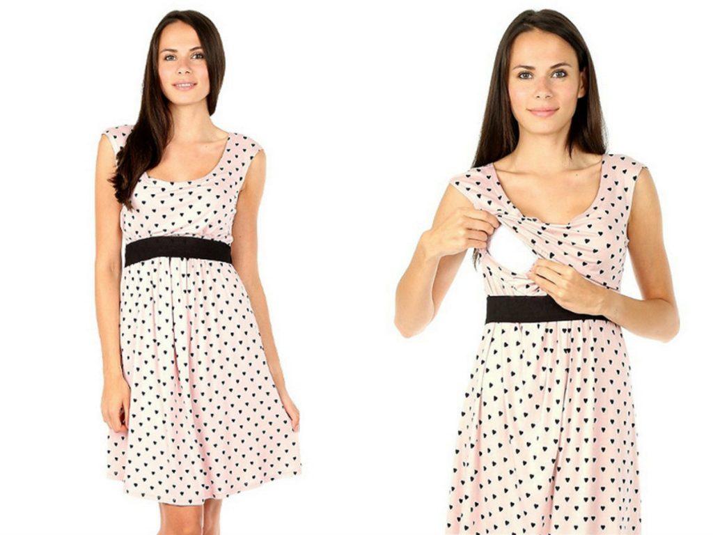 Sukienka ciążowa Amy (fot. www.pieknamama.pl)