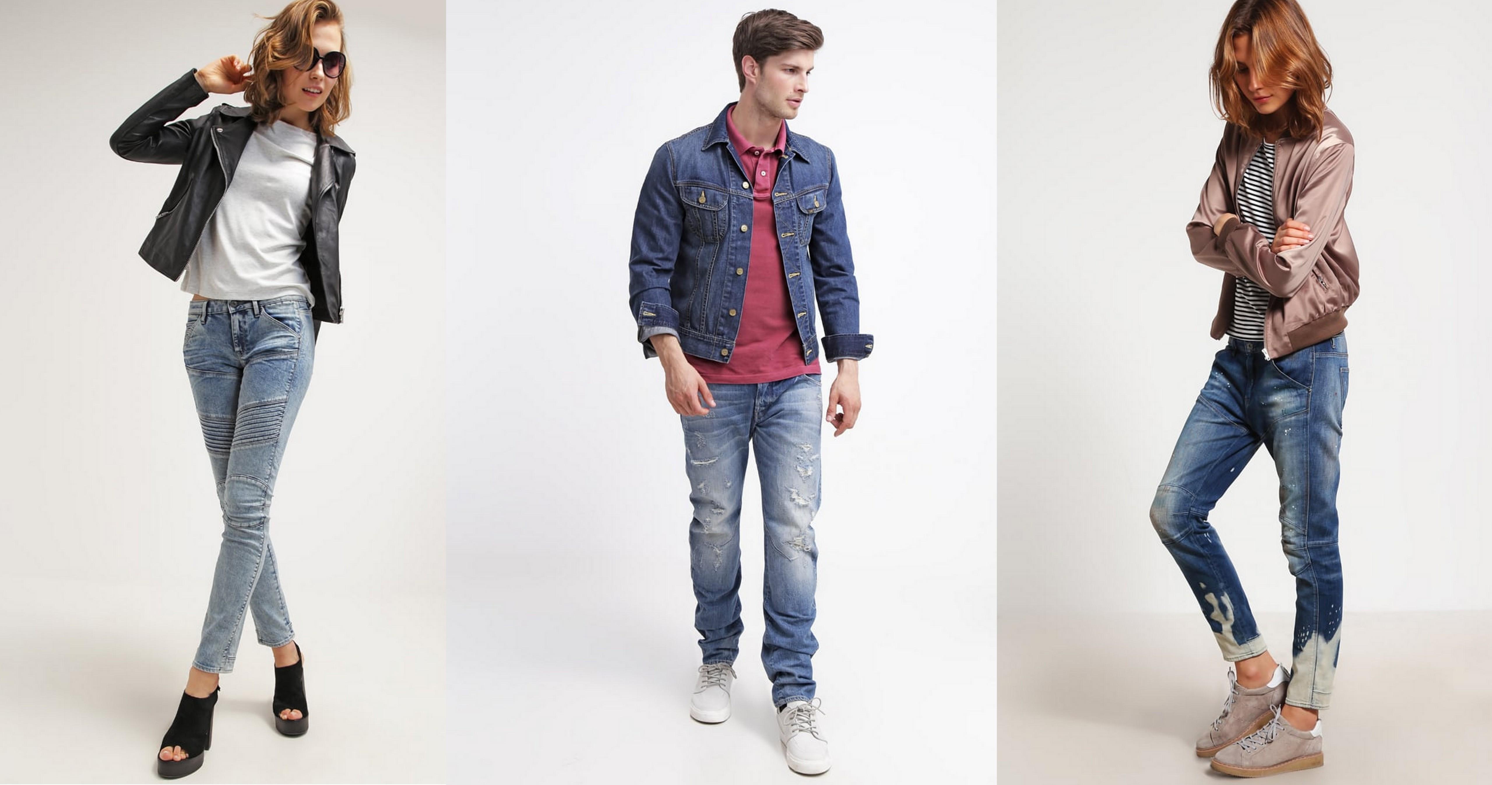 g-star jeansy