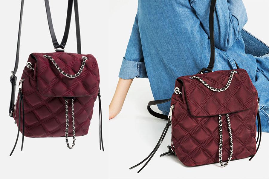 Plecak damski Zara