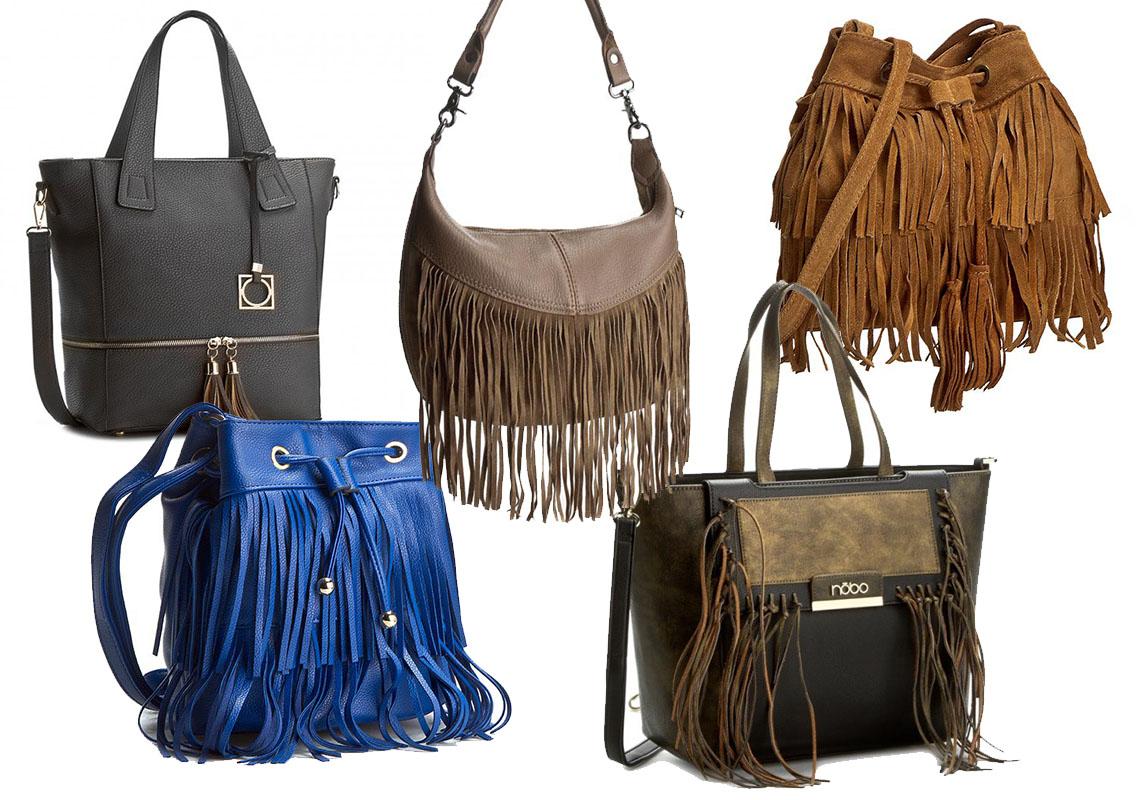 Torby do 200 zł, od lewj, górny rząd: Jenny Fairy, dwie torby Creole, dolny rząd: Jenny Fairy, Nobo (fot. eObuwie)