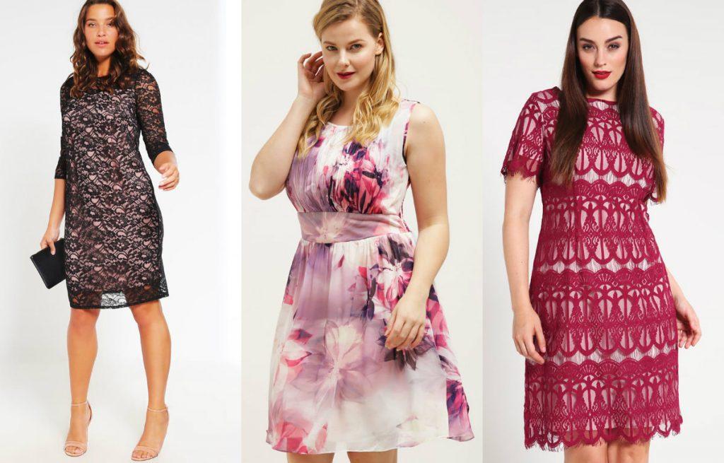 Sukienki na sylwestra dla puszystych z kolekcji Dorothy Perkins Curve