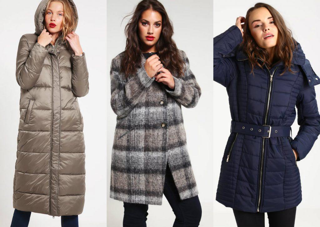 Płaszcze damskie zimowe - dla wysokiej, puszystej i niskiej (fot. zalando.pl)