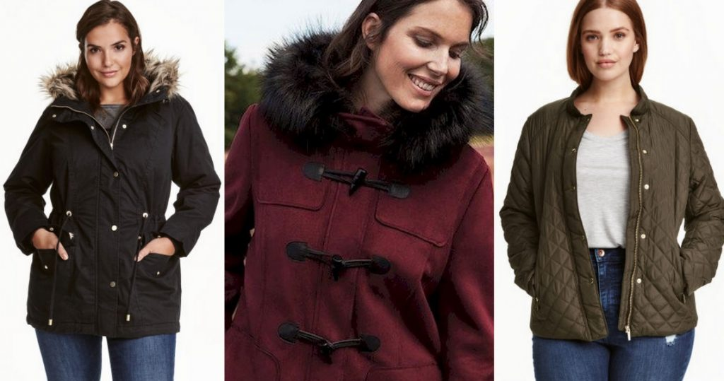 płaszcze zimowe damskie duże rozmiary