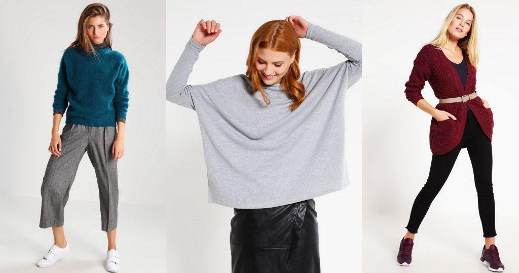 sweter oversize jesień