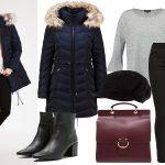 Płaszcze zimowe damskie: stylizacja z puchówką Carolina Cavour DEBBIE (fot. zalando.pl)