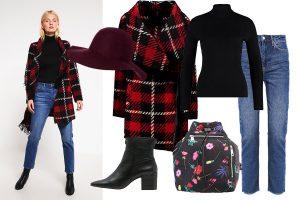 Płaszcze zimowe damskie: stylizacja z płaszczem wełnianym od Replay (fot. zalando.pl)