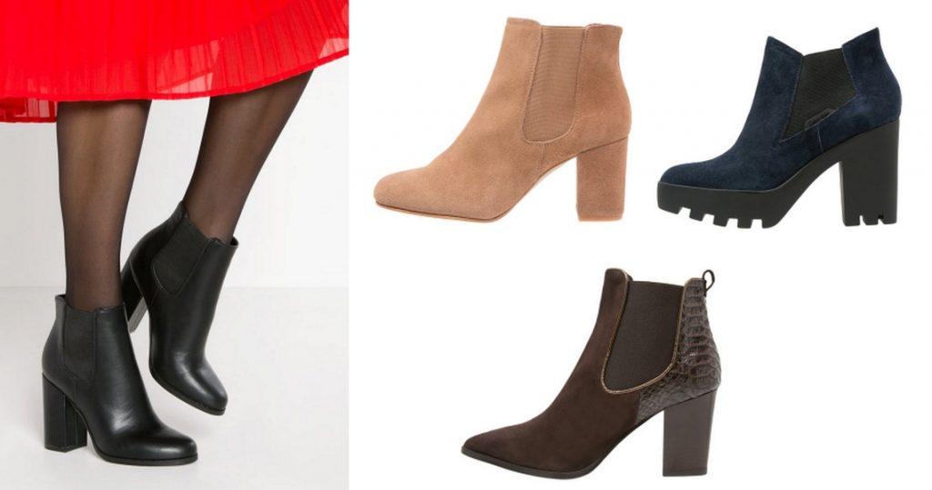 buty sztyblety damskie na obcasie