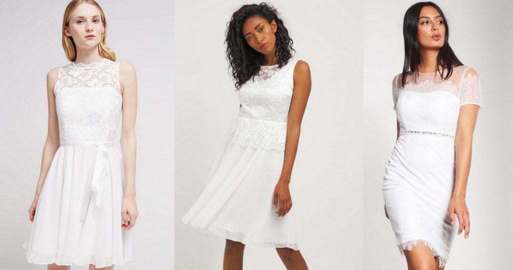 sukienki na ślub cywilny białe