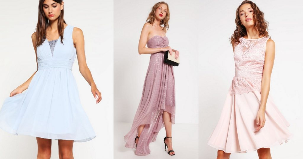 sukienki na ślub cywilny pastele