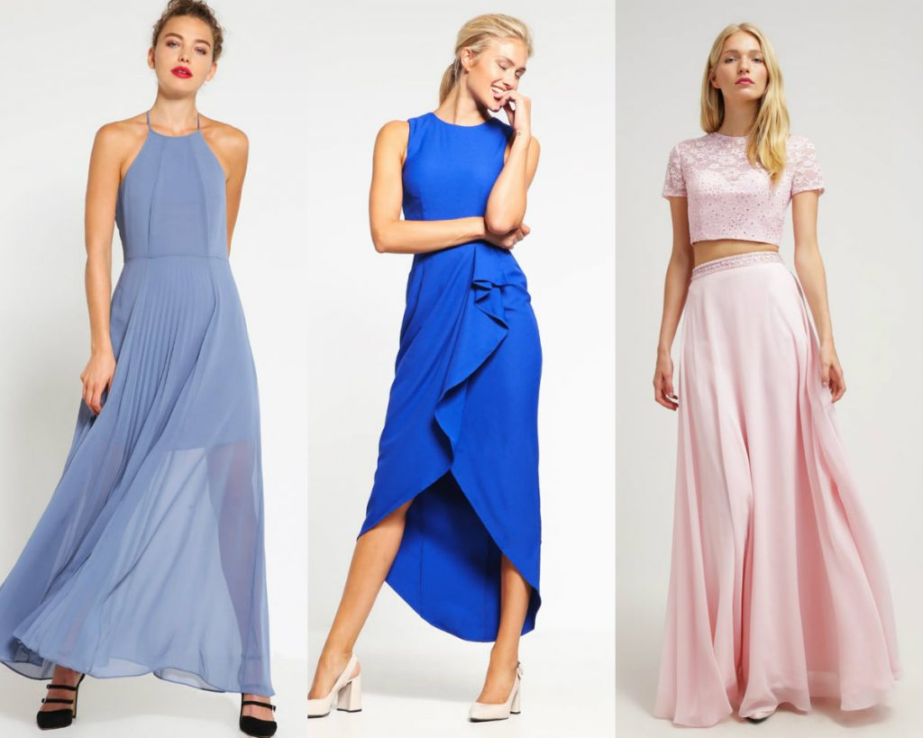 Długie sukienki na wesele (zalando)