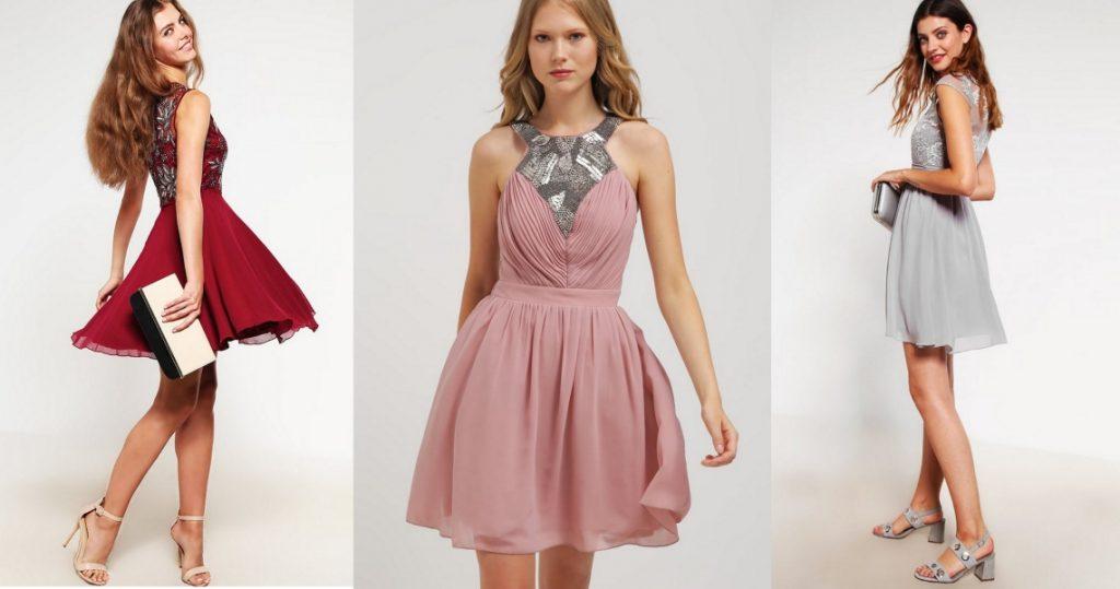 krótkie sukienki studiówkowe