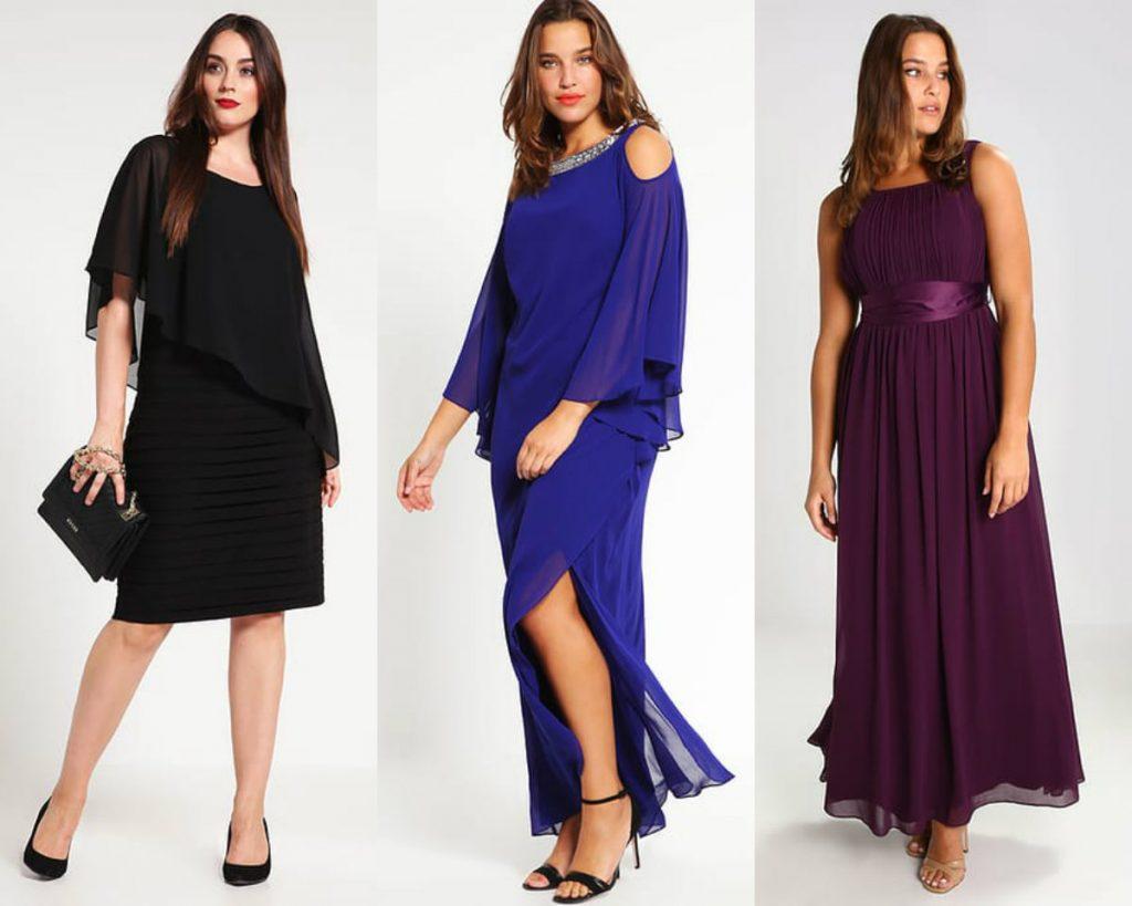Sukienki wieczorowe duże rozmiary - nasz wybór (fot. zalando)