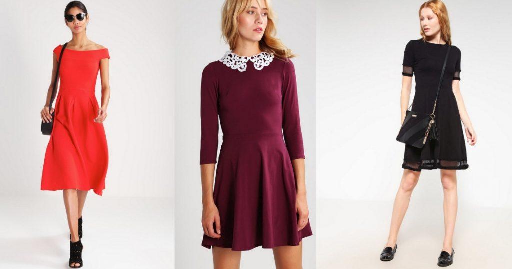 sukienki wyszczuplające krój a
