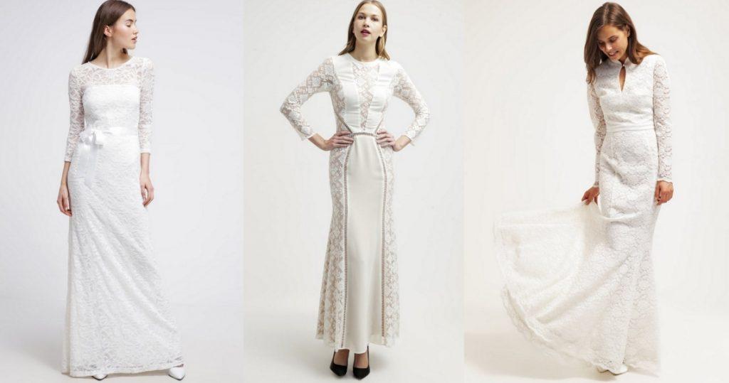 suknie ślubne z długim rękawem przegląd