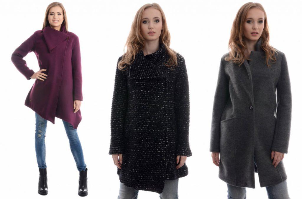 Płaszcze zimowe damskie wyprzedaż Unisono - modele do 200 zł