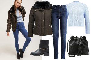 Kurtki zimowe damskie wyprzedaż: stylizacja (Zalando.pl)