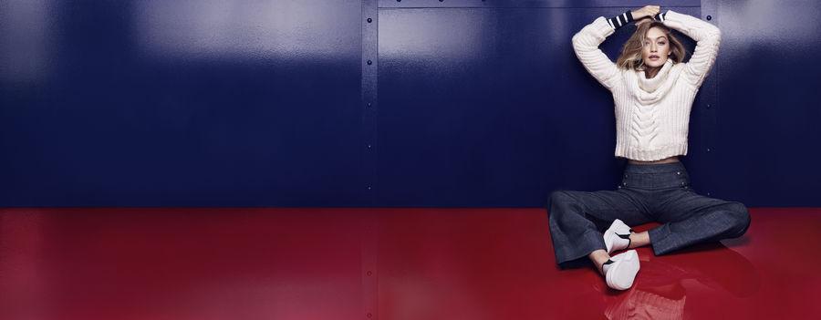 Tommy Hilfiger buty z kolekcji współtworzonej z Gigi Hadid