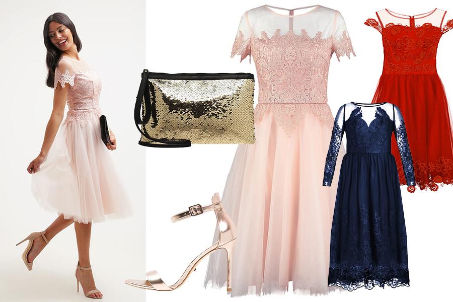 Stylizacje na studniówkę: krótkie sukienki (fot. zalando.pl)