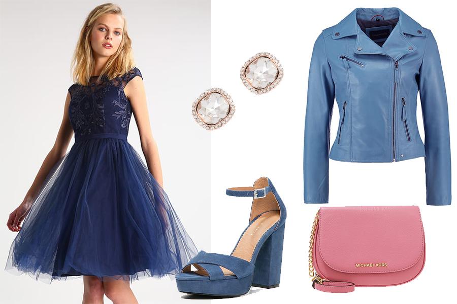 Sukienka tiulowa - przykąłdowa stylizacja (fot. zalando.pl)
