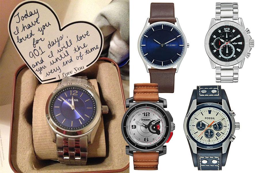 Prezent na walentynki dla chłopaka: zegarek (fot. pinterest.com/ bingobongos.watchestrs.com, materiały partnera)