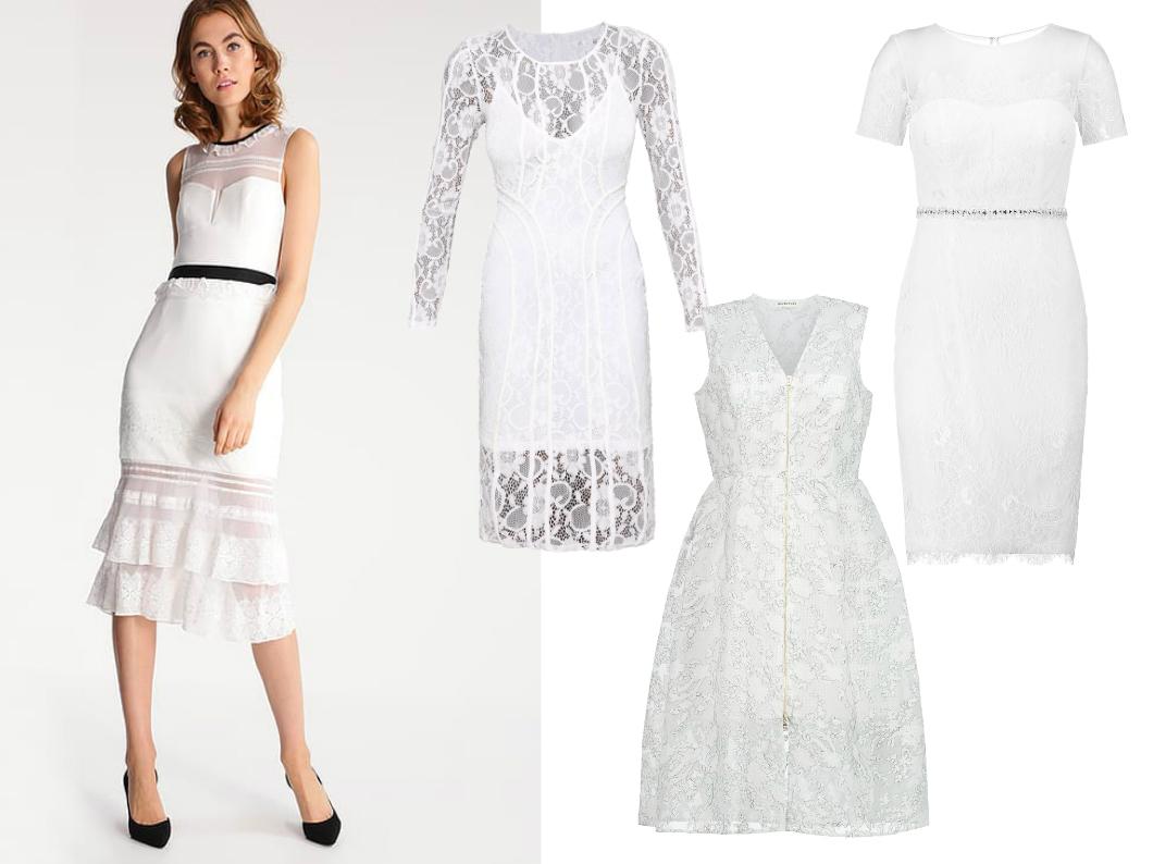 6c2c3d56ba biała sukienka na komunię dla mamy