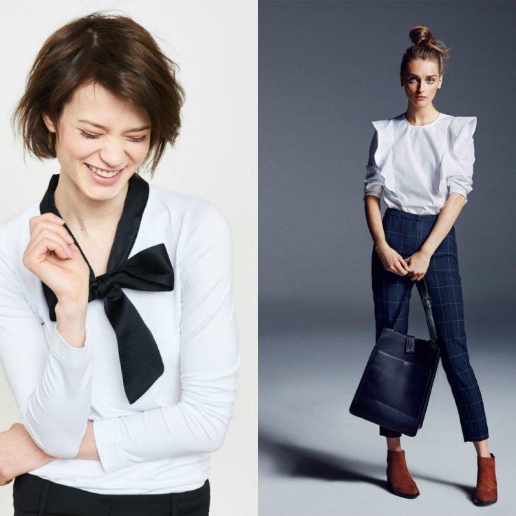 Eleganckie bluzki damskie (zdj. Simple, Reserved)