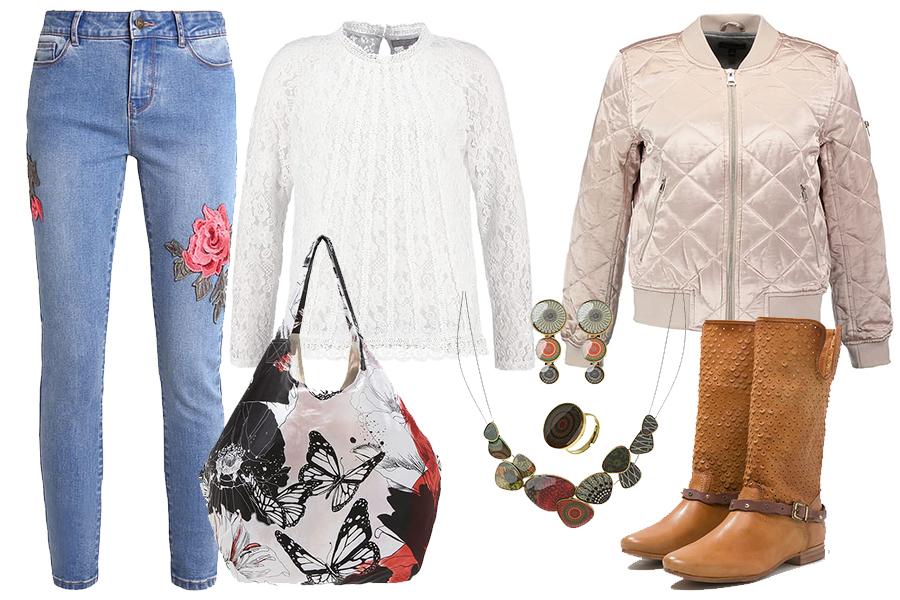 Ażurowe kozaki do spodni (fot. zalando, kolaż redakcja)
