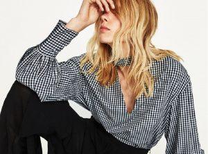 Eleganckie bluzki damskie (fot. ZARA)
