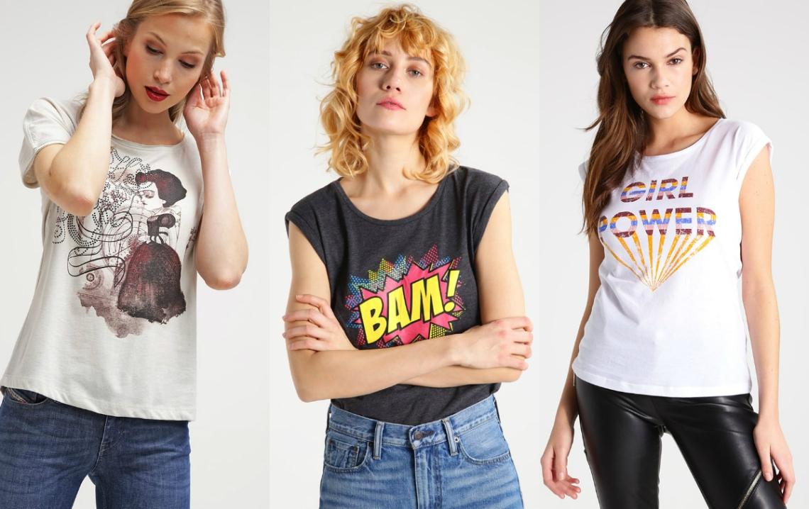 oryginalne t-shirty damskie