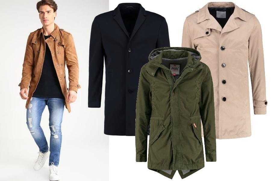 płaszcze na wiosnę 2017 męskie