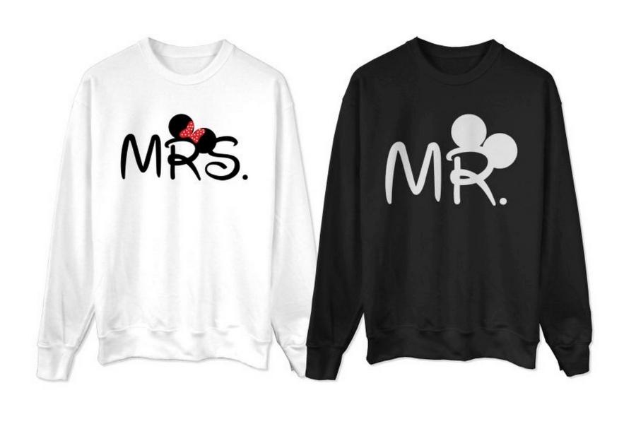 bluzy dla par myszka miki