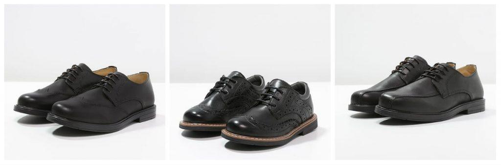 Buty chłopięce na komunię (kolaż redakcja, fot. zalando)