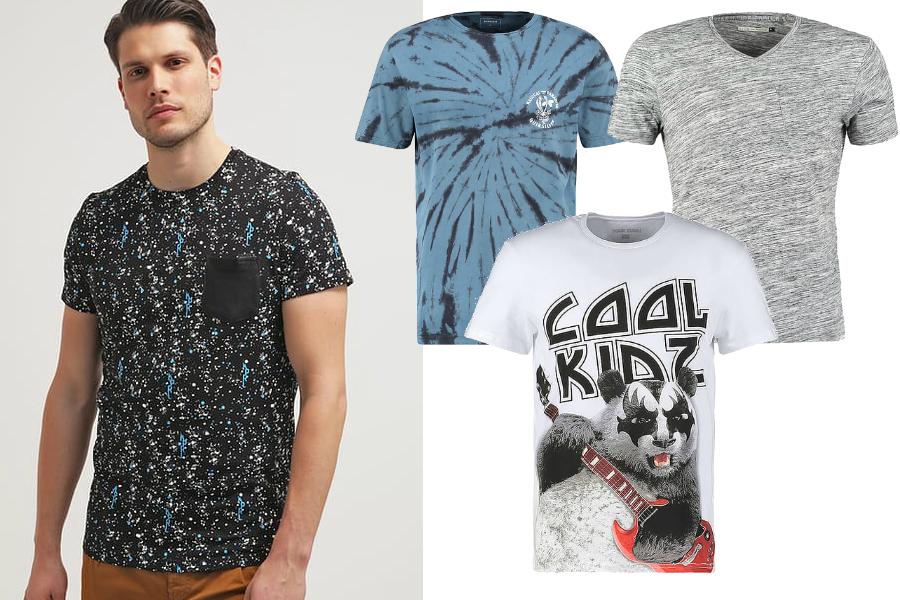modne t-shirty męskie