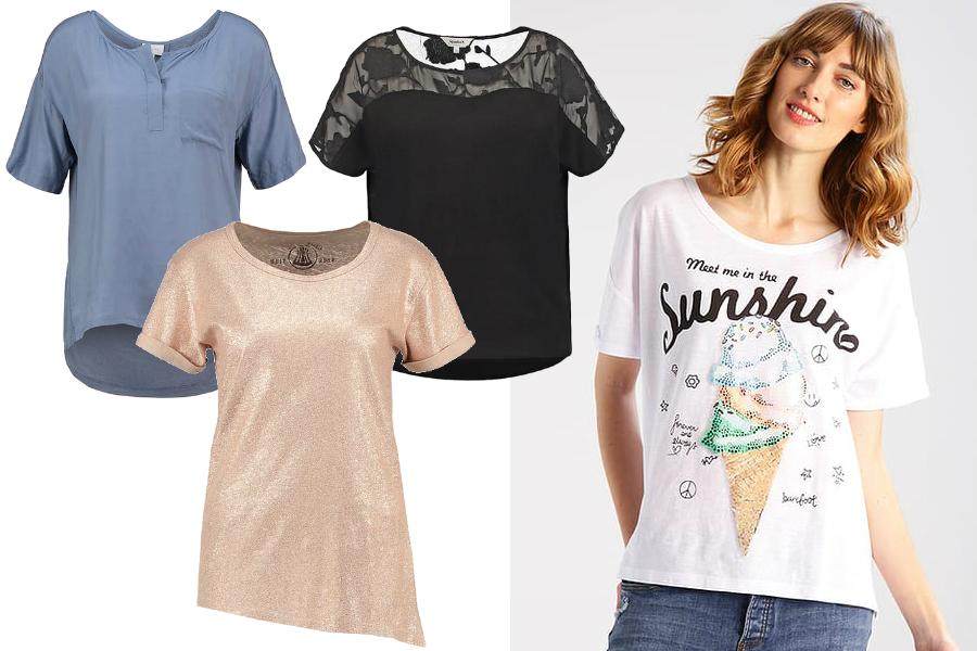 modne t-shirty damskie