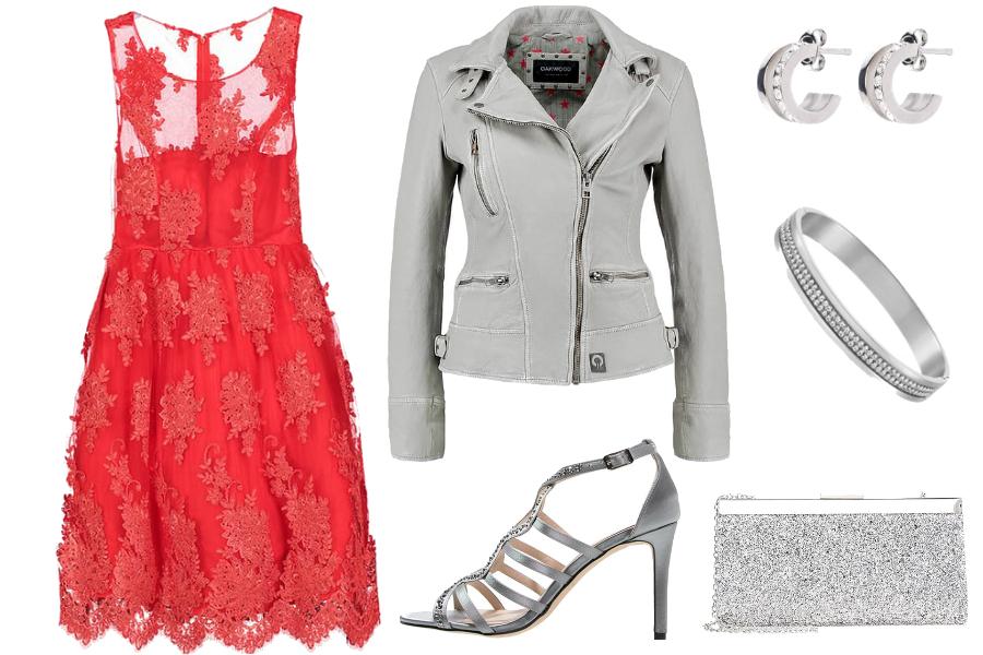 rozkloszowane sukienki czerwona
