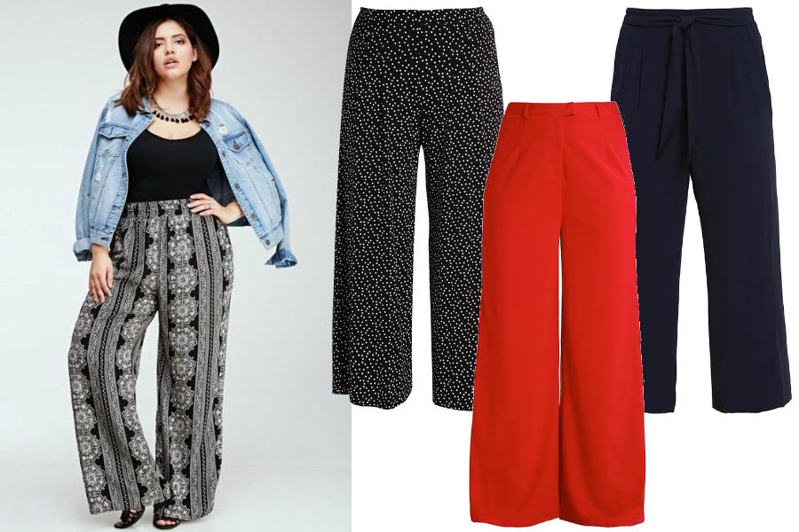 spodnie dla puszystych letnie