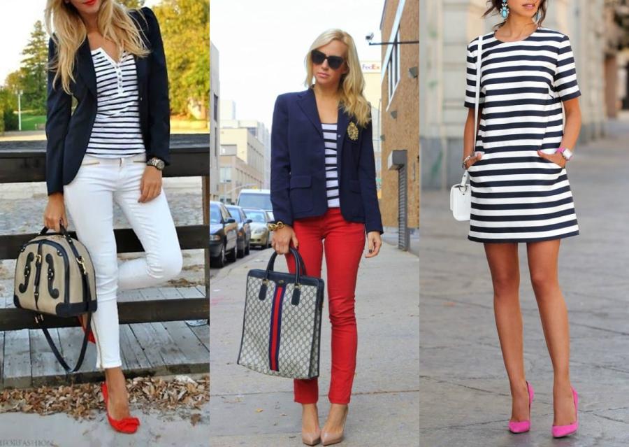 styl marynarski w modzie