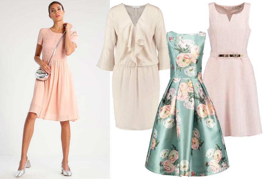 w co się ubrać na komunię sukienka