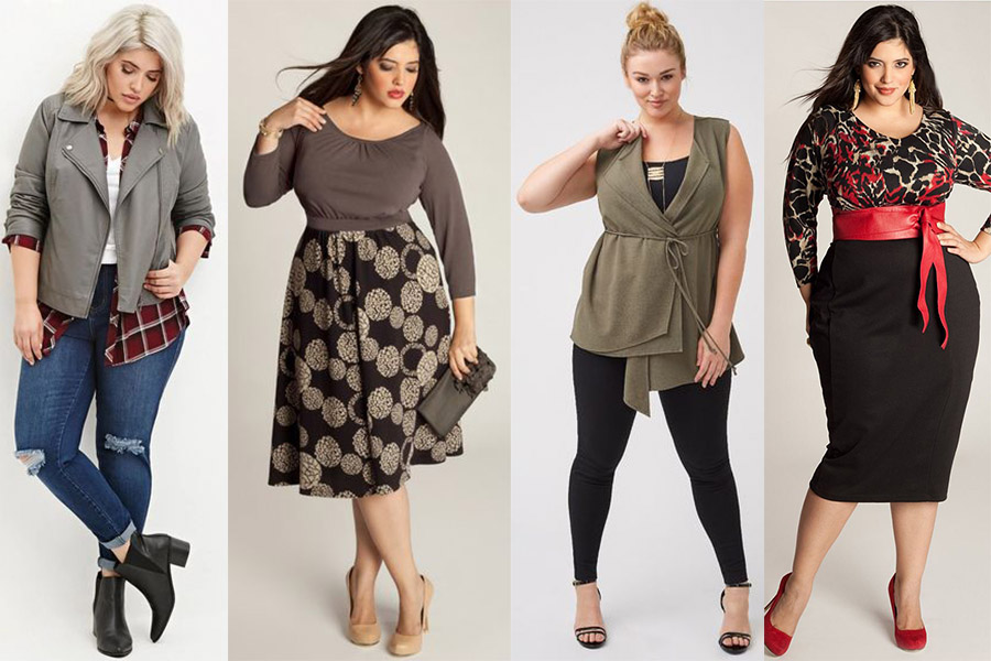 Jak wyglądać szczuplej? Dobierz odpowiedni fason ubrań! (fot. pinterest.com)