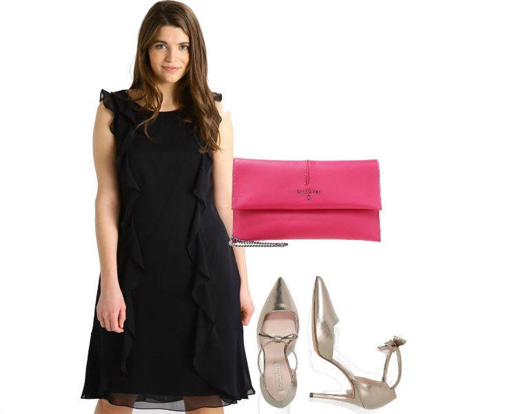 fot. materiały partnera, kolaż Modatu/ sukienki z falbanami na randkę