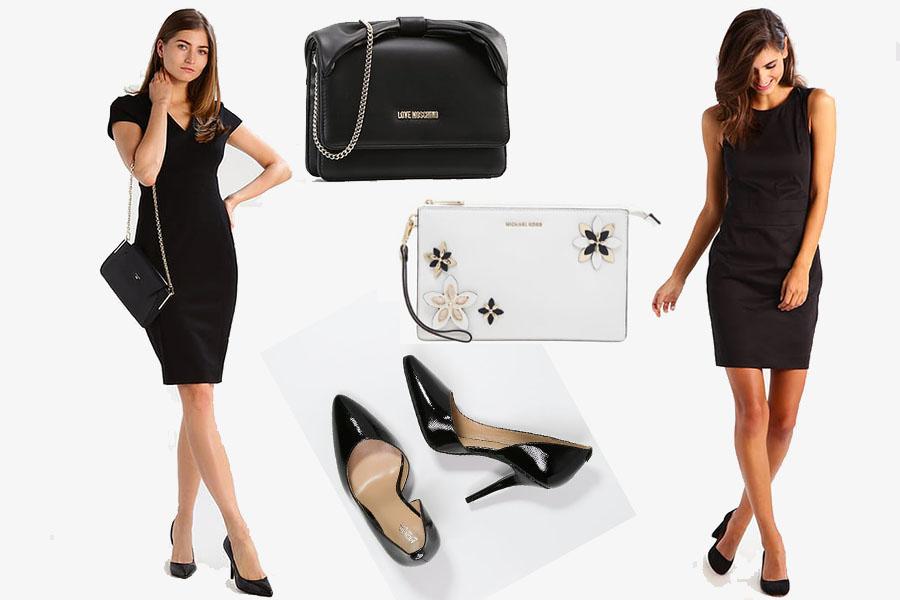 Mała czarna sukienka do teatru (kolaż redakcja, materiały partnera)